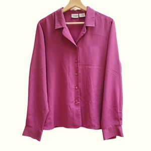 Liz Baker Soft Pink Blouse
